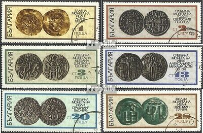Bulgaria 2043-2048 (complete issue) used 1970 Coins of 13. and