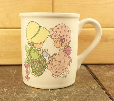 """Precious Moments """"Friendship Hits The Spot"""" Friends Coffee Mug Cup Vintage 1995"""