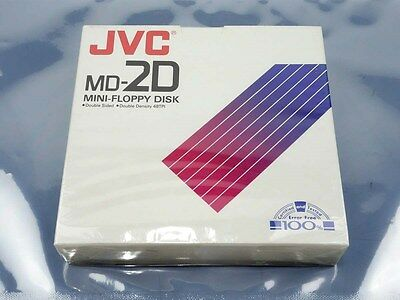 """New! JVC MD-2D 5.25"""" Floppy Disk Double-Sided Double-Density 48TPI 10-Pack!"""