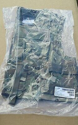 Rare NEW In Packet British Army MTP ECBA Body Armour Cover Flak Jacket 190/120