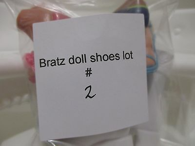 bratz doll girls shoes boots for 10 inch lot #2