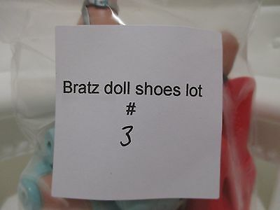 bratz doll girls shoes boots for 10 inch lot #3
