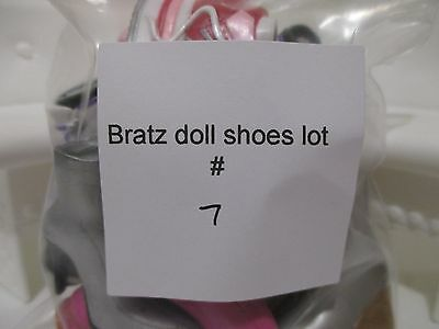 bratz doll girls shoes boots for 10 inch lot #7