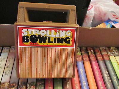 Tomy Strolling Bowling COMPLETE works great
