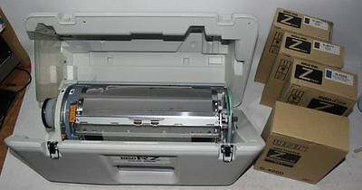 Riso RZ Color Drum in Case + Master S-4250, S-4277 Brown, S-4265 Blue Ink