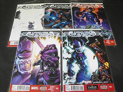 CATACLYSM the ULTIMATES LAST STAND 1-5 MARVEL COMIC RUN SET 1 2 3 4 5 TOTAL
