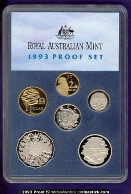 1993 Australia Proof Coin Set, Landcare, just as issued by RAM