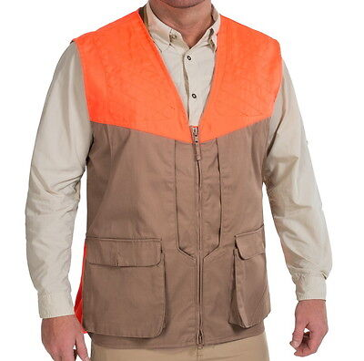 Beretta Front-Loading Cotton Upland Shooting Vest - 2XL - Water Repellent