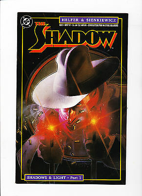 The Shadow #1 (1987) -Mint - White Pages