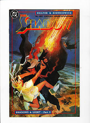 The Shadow #2 (1987) - Mint - White Pages