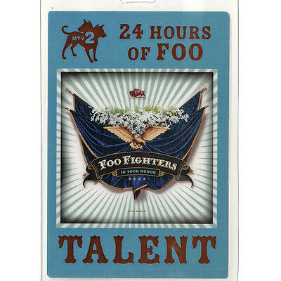 Foo Fighters authentic 2005-2006 concert tour Laminated Backstage Pass