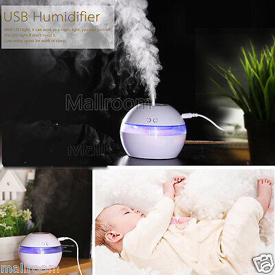 Air Spray Water LED Aromatherapie Diffuser Ultraschall Luftbefeuchter Humidifier