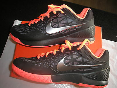 Nike Zoom Cage 2 Tennis Shoe Uk 11 Eur 46 Brand New/box Model 705247 008