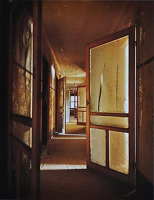 Stephen Wilkes Ellis Island #3 Ltd. Ed. Photo Art 27x41 Nurses Quarters Hallway