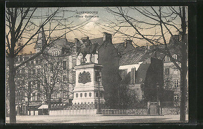 remarquable CPA Luxembourg, Place Guillaume