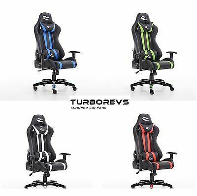 Reclining High Back Gaming Computer Racing Bucket Office Desk Chair