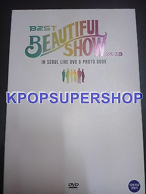 BEAST 2013 Beautiful Show in Seoul 2 DVD 220 page Photobook Excellent Condition