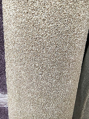 Carpet Remnant Roll End / Trinity 411 Latte Tweed Cut Pile 4x1.79m Cheshire