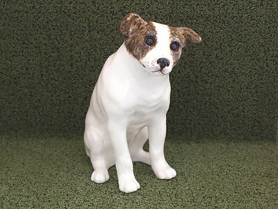 Winstanley Cat Pottery Jack Russell terrier size 8