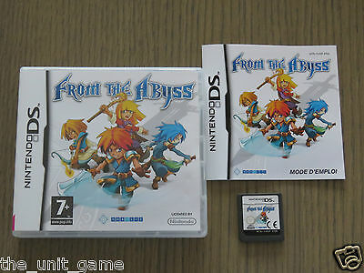 Jeu Nintendo Ds /3Ds   From The Abyss   Complet En Francais