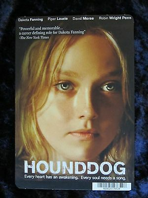 HOUNDDOG movie backer card (this is NOT a movie) DAKOTA FANNING