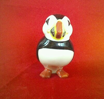 "Quail Ceramics china  4"" Puffin figure collectable"