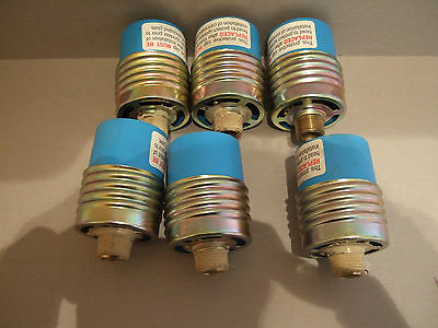 "(6) Tyco Concealed Fire Sprinkler Heads - Ty3531 - 155F/68C-1-2"" Npt"