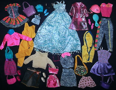 Barbie, Sindy Doll clothes lot: 31 Mix & Match items - ALL GOOD PLAY condition