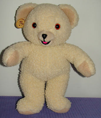 "Russ Snuggle Bear 15"" Tall Lever Brothers 1986 Item 3146 Made In Korea 8701 - Bb"