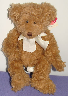 "Russ Bernie Bear 100512 Bears From The Past Handmade 10"" Tall With All Tags -Dd"