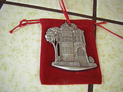 A. Schumann  MGIC Pewter House Christmas Ornament 1995  - New