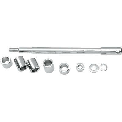 DS Chrome Axle Kit Front Harley FXD Dyna Super Glide 2000-2003