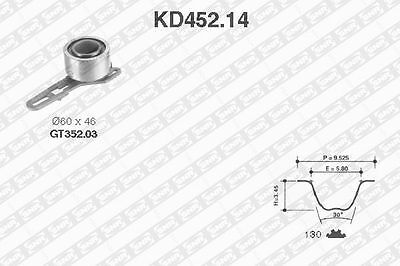 Timing Gear Kit SNR KD452.14 for Ford