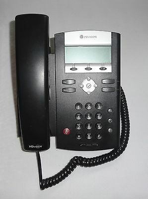 Polycom SoundPoint IP 335 SIP VoIP PoE Business Telephone Phone Set - Brand New