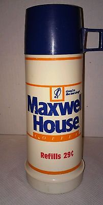 Maxwell House Coffee Thermos advertising