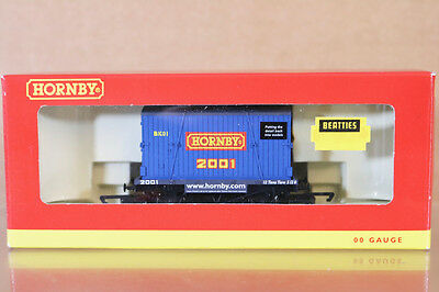 HORNBY R6136 Hornby 2001 COLLECTORS CLUB CONFLAT CONTAINER LASTER BK01 MIB nj