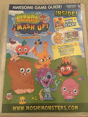 Moshi Monsters Mash Up Card Game Collection Over 100 Cards And Full Map Set