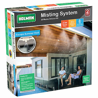 Holman DELUXE MISTING KIT 20 Metre  Includes 20 Brass Misting Nozzles