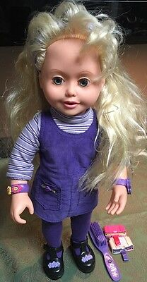 """Amazing Ally Tea Party Interactive Doll Play Toy  18"""" Tall"""