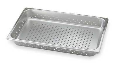 VOLLRATH 30063 Perforated Pan,Full-Size, 21 Qt.