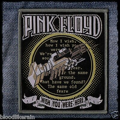 PINK FLOYD Wish You Were Here woven patch aufnäher The Wall Limited to 100