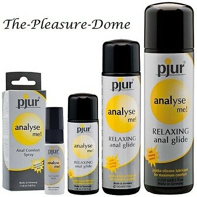 Pjur Analyse me! Anal Lube Relaxing Sexual Glide 30ml 100ml 250ml