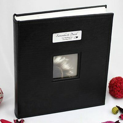 Personalised  Wedding 5 x 7 Photo Album Gift - Add a Name & Message