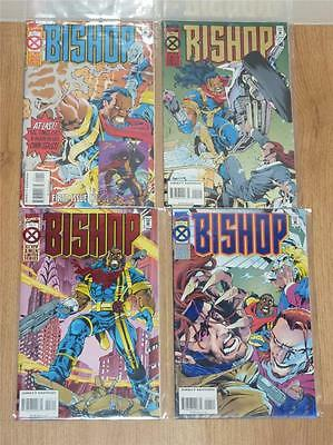 Bishop 4 Part Limited Series - Marvel 1994/5 - FN/VFN to VFN - 4 Comics + Card