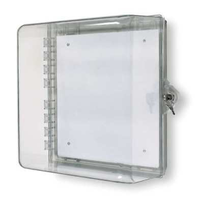 Enclosure w/Lock,Polycarbonate,Surface SAFETY TECHNOLOGY INTERNATIONAL STI-7530