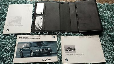 BMW 3 SERIES E36 316 318 320 325 is td Owners Handbook service Manual Book pack