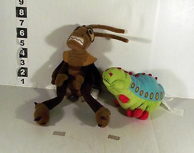 2 x A BUG'S LIFE SOFT TOY