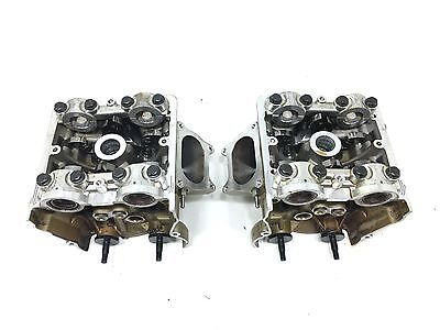 Ducati 1198 / 1198S Front & Rear Cylinder Heads Valves Rockers Set