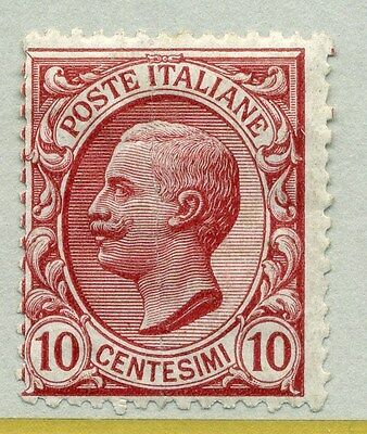 ITALY; 1906 early Victor Emmanuel III issue fine Mint hinged 10c.  value
