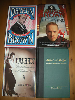 Derren Brown Pure Effect, Absolute Magic, Tricks of the Mind and Confessions!